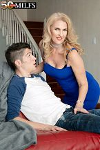 Lacy's future son-in-law bonks her constricted ass